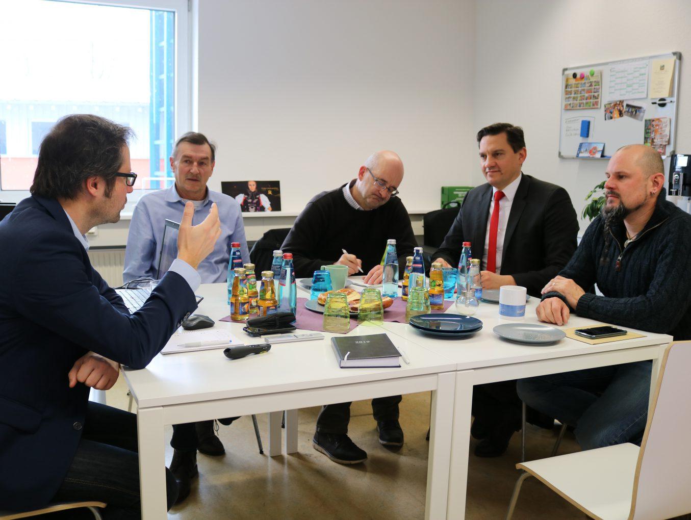 Bundestagsabgeordneter Johannes Fechner zu Gast beim Zweckverband