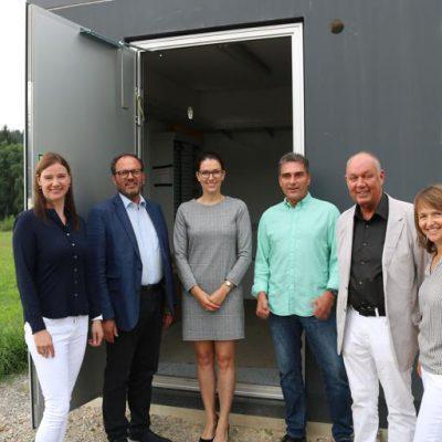 In Grüningen gehen die ersten Glasfaser-Hausanschlüsse in Betrieb