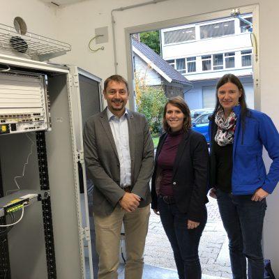 In Gütenbach können die ersten Kunden online gehen