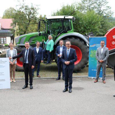 Offizielle Inbetriebnahme des Glasfasernetzes der Blumberger Talgemeinden