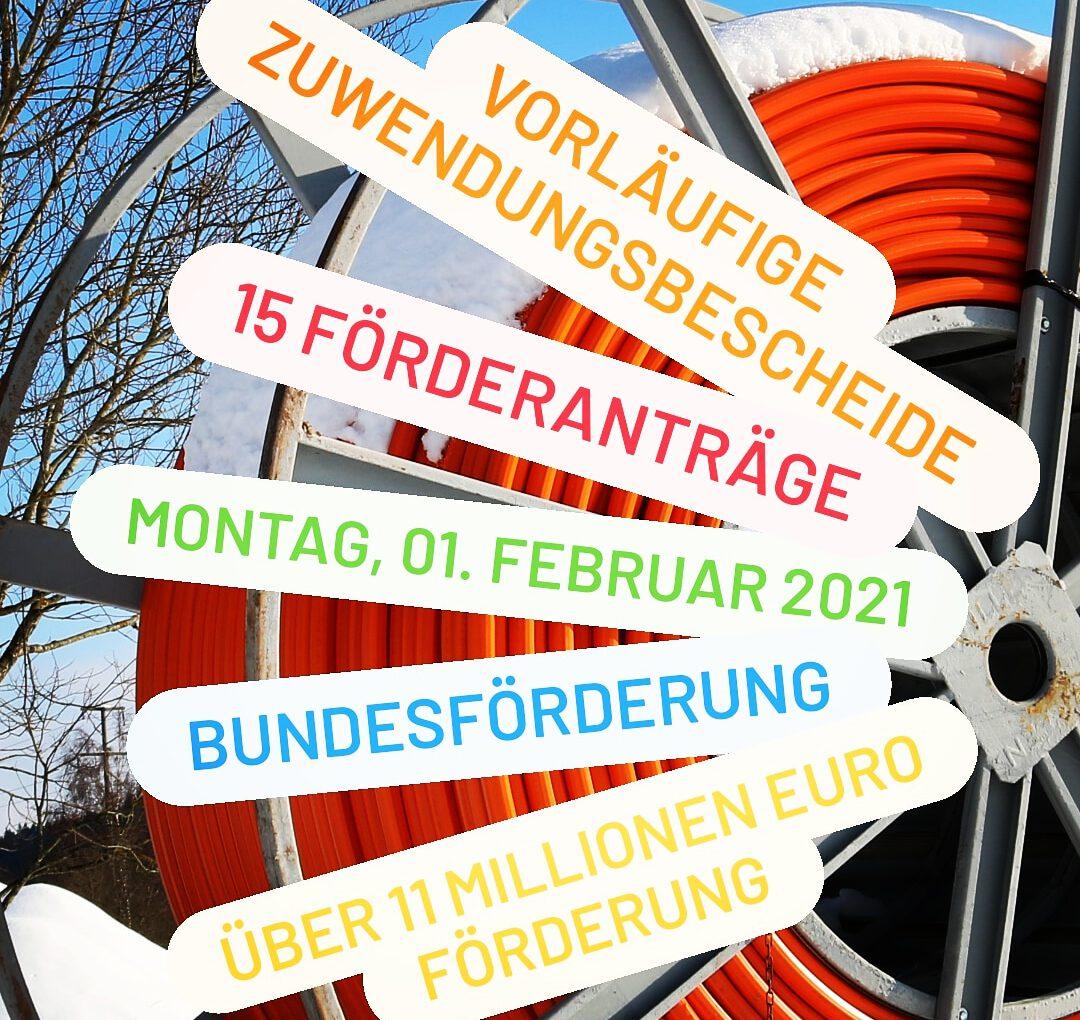 Glasfaser-Ausbau-Projekte im Schwarzwald-Baar-Kreis erhalten über elf Millionen Euro Förderung vom Bund