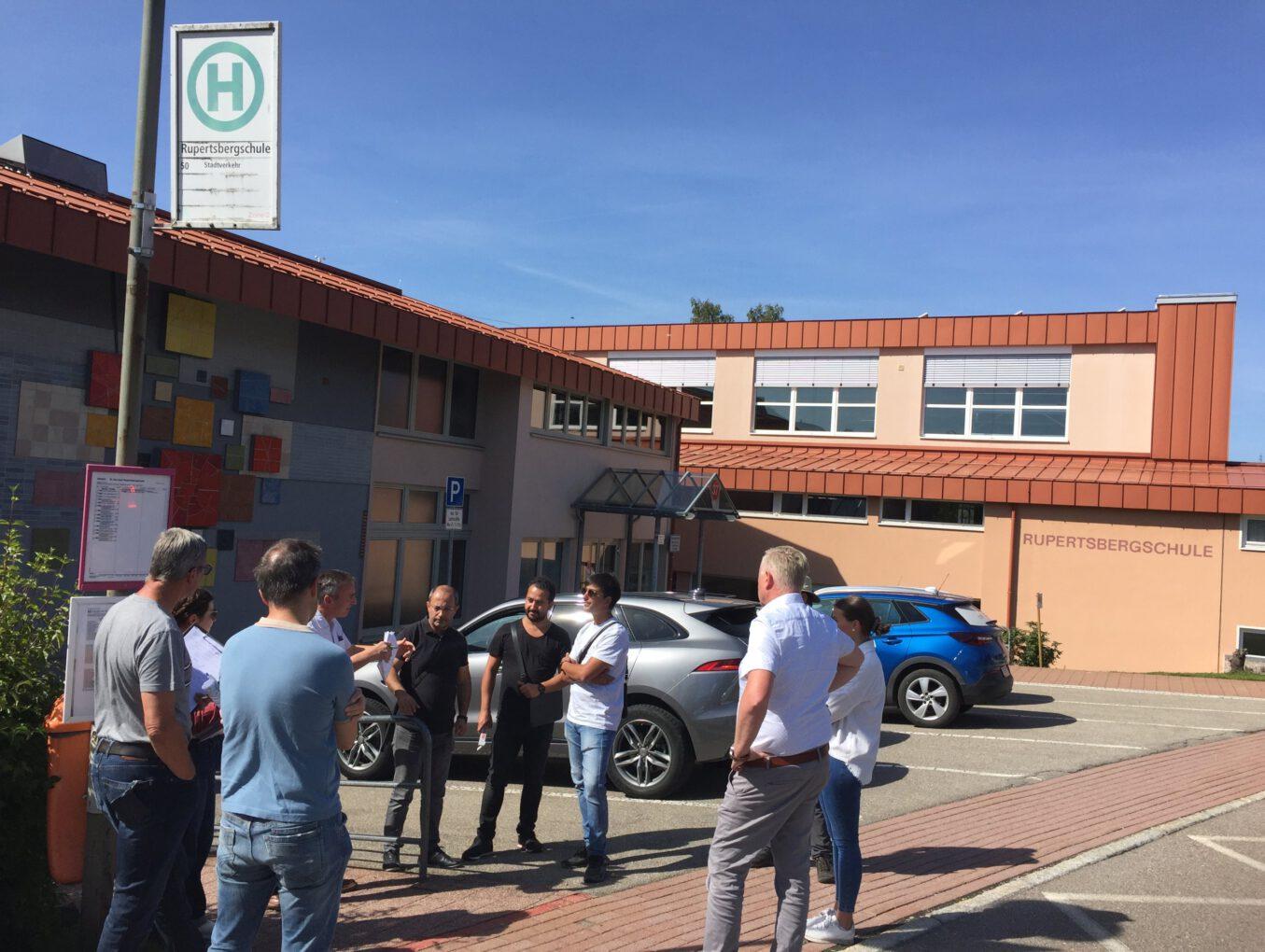 Bauanlaufgespräch an Rupertsbergschule